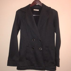 ARDEN B Button Up Jacket-Pea Coat Style- Size Sm.